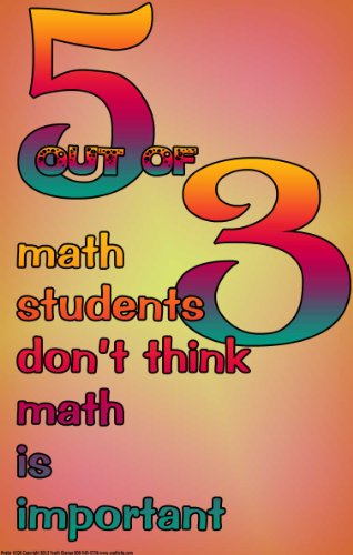 Poster 326 Funny Motivational Math for Classrooms
