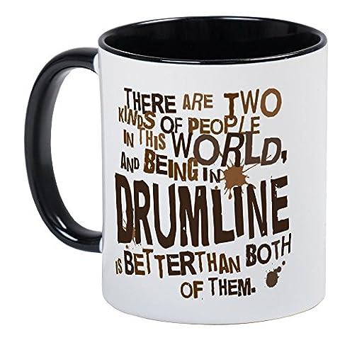 CafePress - Drumline (Funny) Gift Mug - Unique Coffee Mug, Coffee Cup (Marching Band Mug)