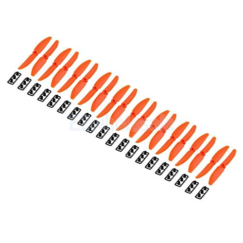 Orange 10Pairs 5030 5x3 CW CCW Propeller Props for Mini QAV250 Quadcopter by e2wholesale