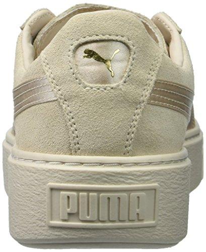 Donna Wh Mono Pumapuma Tint whisper Pink Con Puma Plateau Satin Scamosciato 365828 SfZwUq