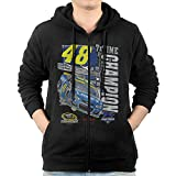 Men's NASCAR Jimmie Johnson 2016 Sprint Cup Champion Zip Up Hoodie