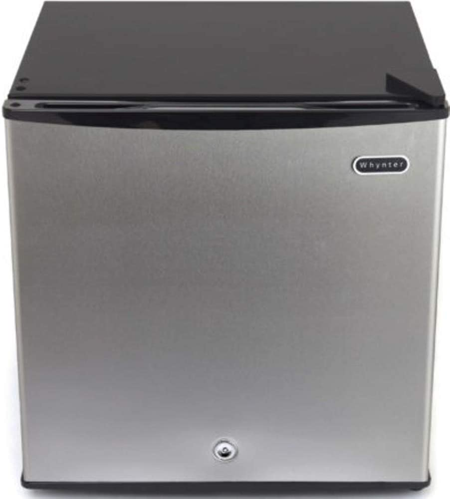 Whynter CUF-112SS 1.1 cu. ft. Energy Star Upright Lock-Stainless Steel Freezer