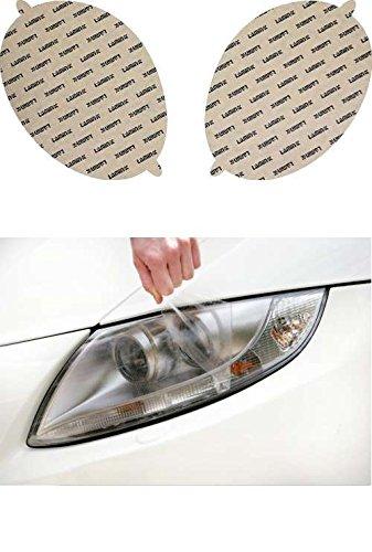 02 Clear Headlight Protection - Lamin-x S001CL Headlight Cover