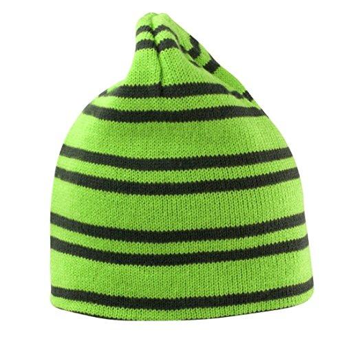 [Result Ganster Reversible Beanie Lime/Grey ONE] (Ganster Hat)