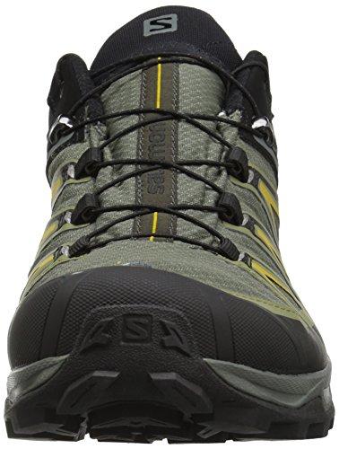 Salomon Herren X Ultra 3 GTX Trail Laufschuh Castor Grau