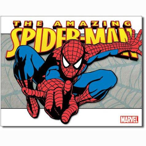 Spider Man - Classic Metal Tin Sign 16W x 12.5H , 16x12