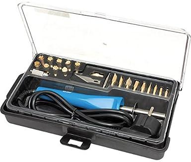 Kit soldador para corte y pirograbado - Calidad garantizada: Amazon.es: Industria, empresas y ciencia
