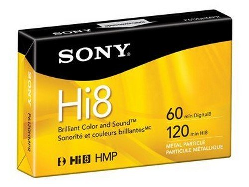 Sony Hi8 Metal Particle Hi8 tape - 1 x 120min (P6120HMPR) -