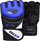 RDX-Maya-Hide-Leather-Grappling-MMA-Gloves-UFC-Cage-Fighting-Sparring-Glove-Training-F12