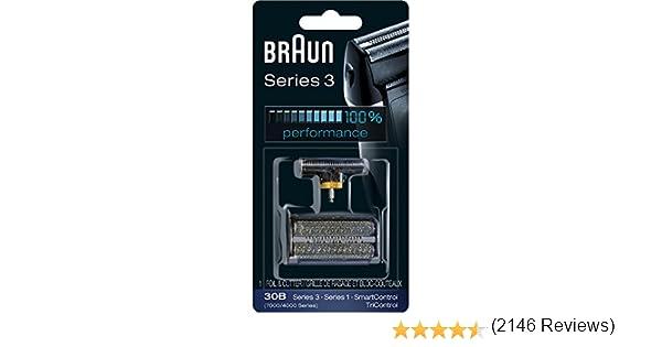 Braun Afeitadora Series 3 30B Lámina de piezas de repuesto, cabeza ...