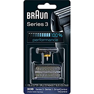 Braun Series 3 30B Foil & Cutter Replacement Head, Compatible with Previous Generation SmartControl, TriControl, 7000/4000 shavers, and Series 3 (340s) (B001VH6F9G) | Amazon price tracker / tracking, Amazon price history charts, Amazon price watches, Amazon price drop alerts
