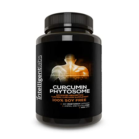 250MG Meriva Curcumin Phytosome, 2900 Better Absorbed Than Ordinary Turmeric Curcumin 100 Soy Free, 120 Capsules Per Bottle, Tumeric Curcumin Phytosome Complex