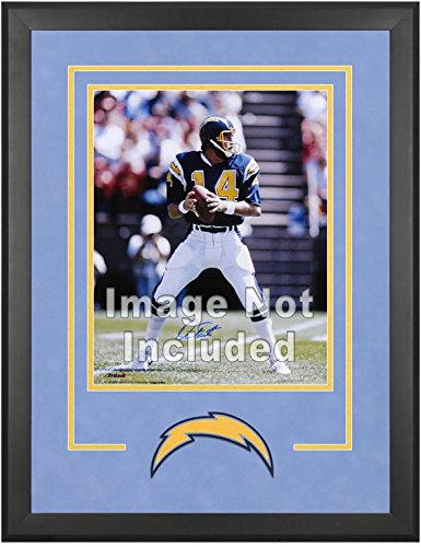 San Diego Chargers Deluxe 16x20 Vertical Photograph Frame by Mounted Memories