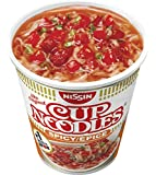 Nissin Cup Noodles Spicy, 4er Pack (4 x 66 g Becher)