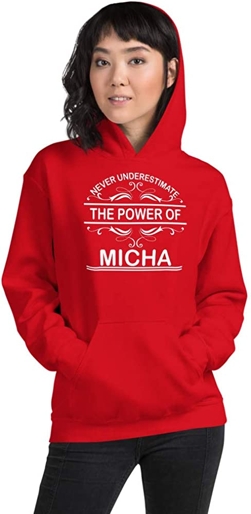 Never Underestimate The Power of Micha PF Red