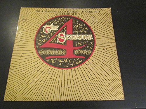 Price comparison product image Edizione D'oro: The 4 Seasons Gold Edition - 29 Gold Hits [2 Vinyl LP Set]