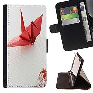 - Tiger Heart - - Monedero PU titular de la tarjeta de cr?dito de cuero cubierta de la caja de la bolsa FOR Apple Iphone 4 / 4S Retro Candy