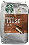 Starbucks Ground Coffee Decaf House Blend Medium