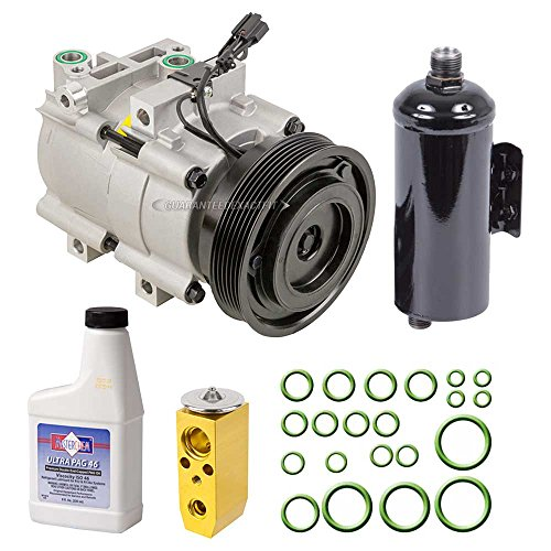 New AC Compressor & Clutch With Complete A/C Repair Kit For Hyundai Sonata Kia - BuyAutoParts 60-80286RK New Hyundai Sonata A/c Compressor