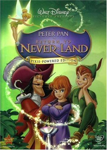 Peter Pan in Return to Never Land (Pixie-Powered Edition)