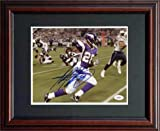 Adrian Peterson Signed JSA Framed Photo-8x10