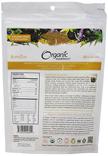 Organic Traditions Macaccino, 8 Ounce by Organic Traditions (Image #3)