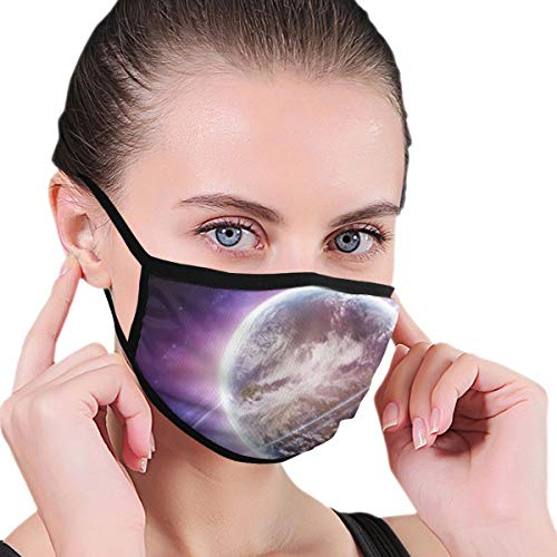 Dean Carnegie St_arry Sky Face Mask Adjustable Mouth Mask Anti Dust Face Mouth Mask Reusable Mask for Cycling Camping Travel