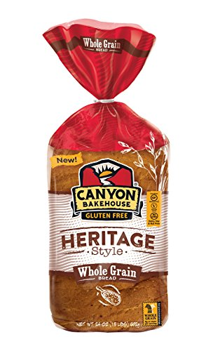 Canyon Bakehouse Heritage Style Whole Grain Gluten Free Bread, 24 oz. (Pack of 3) (Whole Free Grain Gluten Bread)
