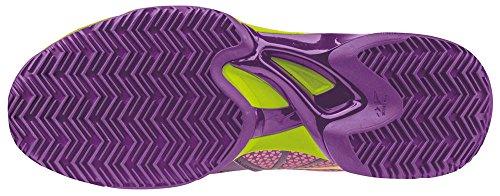 Mizuno Wave Exceed Tour Cc Wos, Zapatillas de Tenis para Mujer Viola (Pansy/Limepunch/Electric)