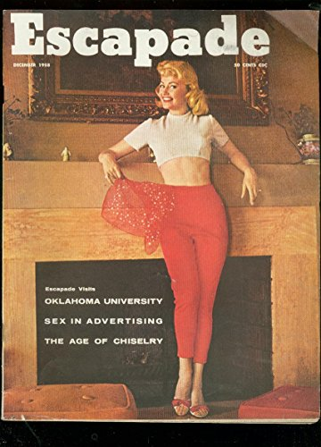 ESCAPADE MAG-DEC 1958-CHEESECAKE-OKLAHOMA UNIVERSITY VG (Cheese University)