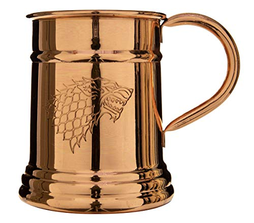 Game of Thrones Collectible Copper Stein (Stark) by Calhoun (Image #3)