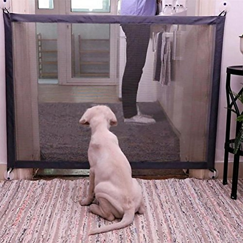 Price comparison product image LOHUA Pet Dog Gate Net Barrier Safety Fence Playpen For Indoor Home And Office Use