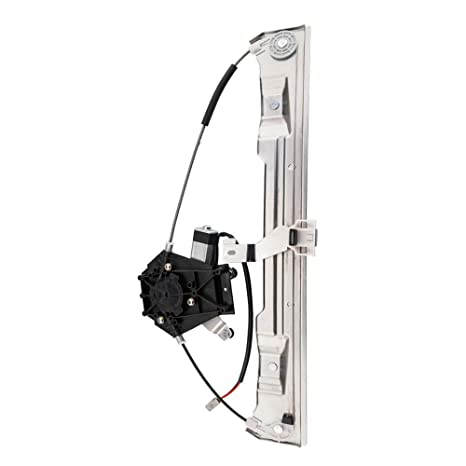 Front Passenger Right Side Power Window Lift Regulator with Motor Assembly Replacement fit for 2002-2010 ford Explorer 04-05 Lincoln Aviator 02-10 Mercury Mountaineer