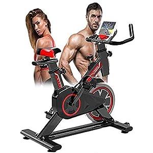 51y%2BIryCVNL. SS300 YUANP Excersize Stationary Bike Spin Indoor Sunny Health Fitness Cycling Bike con Sensori di Pulsazioni Manuali