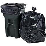64 Gallon Black Trash Bags for Toter, 50X60, 50 Bags Per Case