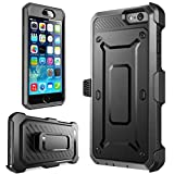 iPhone 7 Case,iPhone 8 Case[Screen Protector][Full Body][Heavy Duty Protection ][Locking Belt Swivel Clip] Shock Reduction/Bumper Case for 4.7 inch iPhone 7 /iPhone 8 (Black)