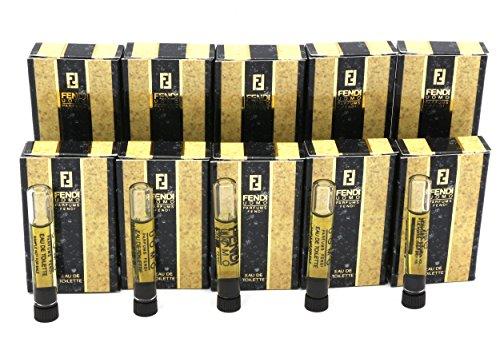 Vintage*FENDI UOMO* By Parfums Fendi 10~Sample Vials Eau De Toilette Splash 1 - Men Fendi Jeans