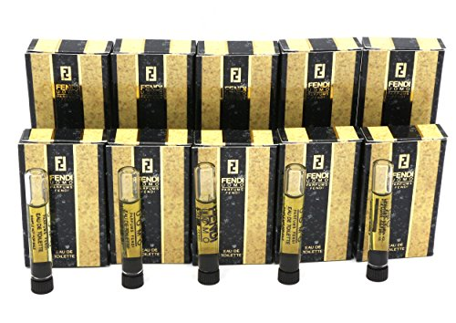 Vintage*FENDI UOMO* By Parfums Fendi 10~Sample Vials Eau De Toilette Splash 1 - Fendi Mens Vintage