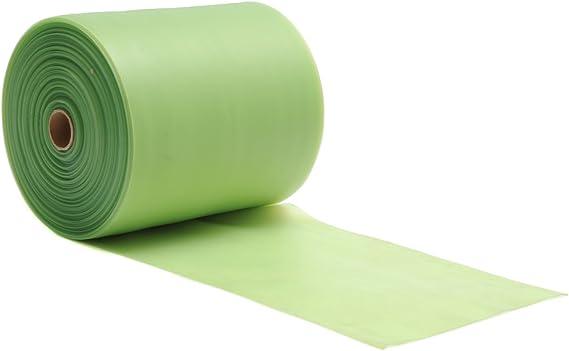 Yogistar 107484/Bande stretch de pilates sans latex 25/m r/ôle Medium/ /Vert