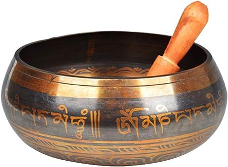 HEALLILY Cuencos sonoros tibetanos establecidos para yoga de meditación y zen