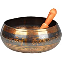 Healifty Tibetan Singing Bowl Set with Striker for Meditation Yoga Relaxation Stress Relief