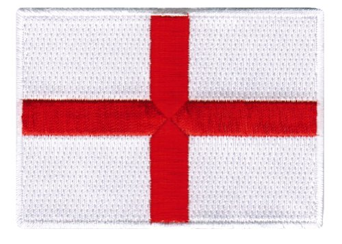 St. George's Cross Embroidered Patch England Flag British Emblem
