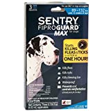 Sentry Fiproguard MAX for Dogs 89-132 lbs Over 12 Weeks 3-Dose