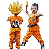 HOLRAN Dragon Ball Z Son GOKU cosplay Kids Adult uniform Large