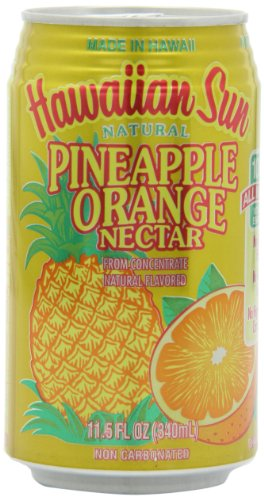 Hawaiian Sun Nectar, Pineapple-Orange, 11.5-Ounce (Pack of -