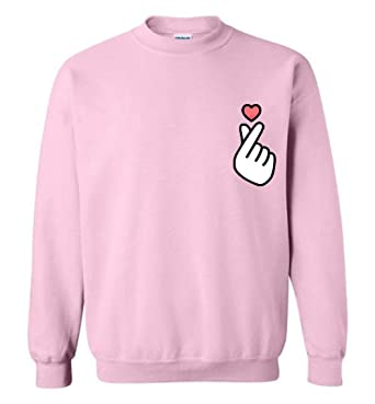 cf6afed53 Amazon.com  The Incredible BTS Korean Music Lover Finger Heart ...