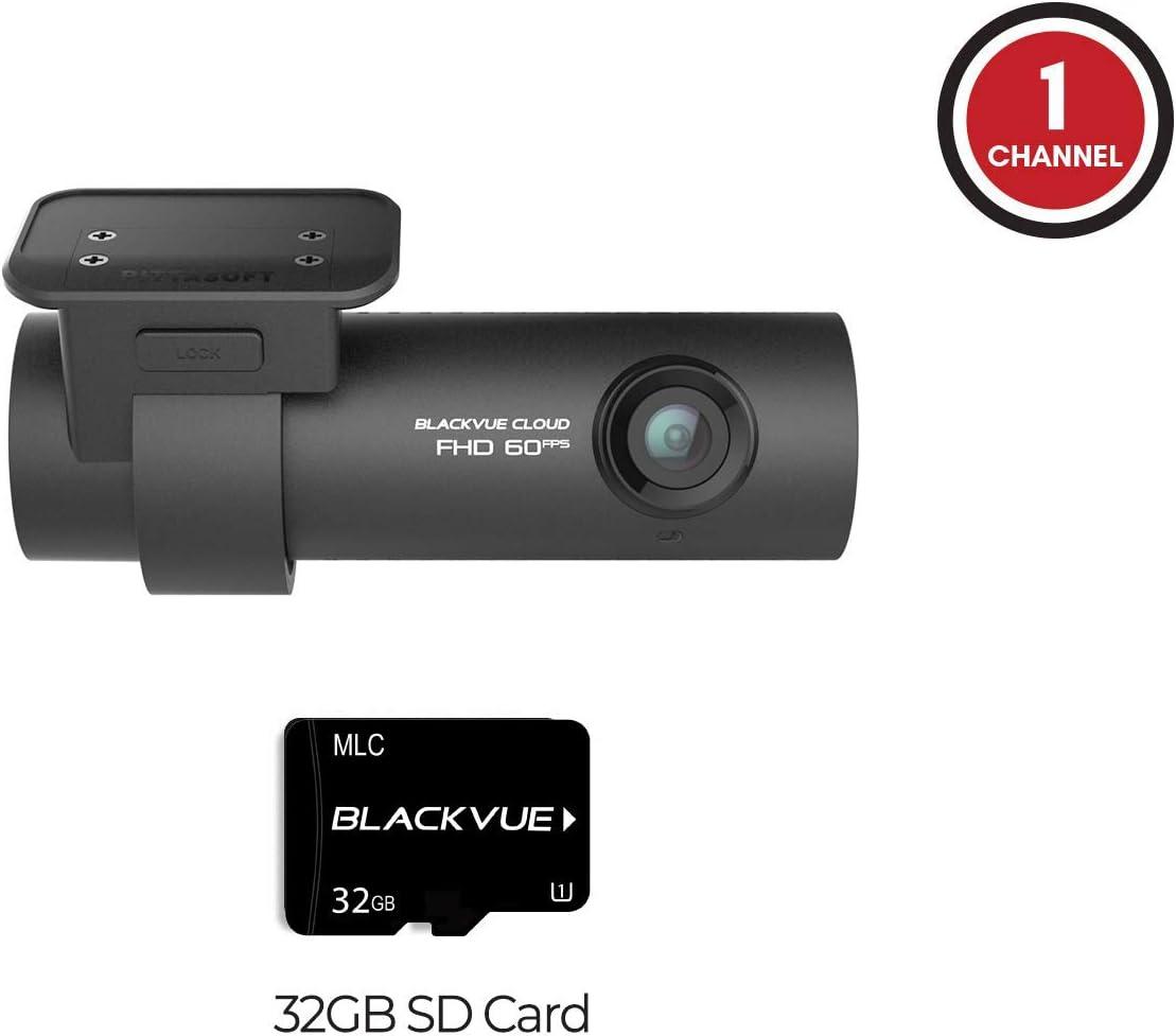 Blackvue BV-DR750S-1CH-16 WiFi 1080P Full HD Car DVR Recorder 16GB SD Card | Free Bonus: Includes BlackboxMyCar Surveillance Decal