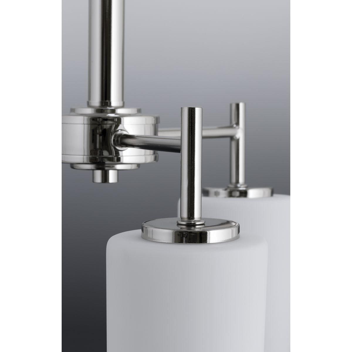 Progress Lighting P2159-09 Contemporary/Soft 3-100W Med Bath Bracket, Brushed Nickel by Progress Lighting (Image #6)