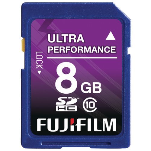 Price comparison product image Fujifilm 8 GB SDHC Class 10 Flash Memory Card