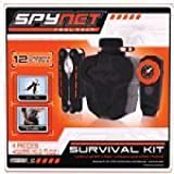 Spynet Real Tech Survival Kit Compass Canteen Whistle